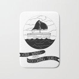 Fair Winds and Seas Bath Mat
