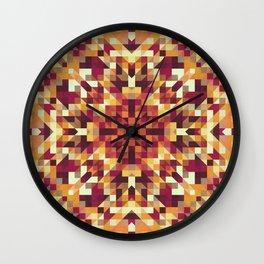 Playful Geometry 001 Wall Clock