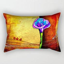 Flower vintage illustration art Rectangular Pillow
