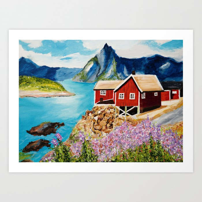 Lofoten Islands, Norway Art Print