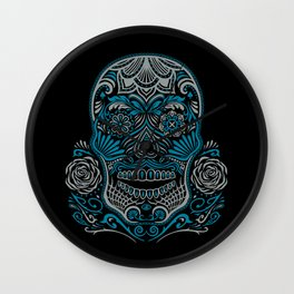 Magic Sugar Skull Wall Clock