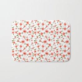 Bindweed , floral background Bath Mat