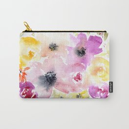 Blooming bouquet #3 || watercolor Carry-All Pouch