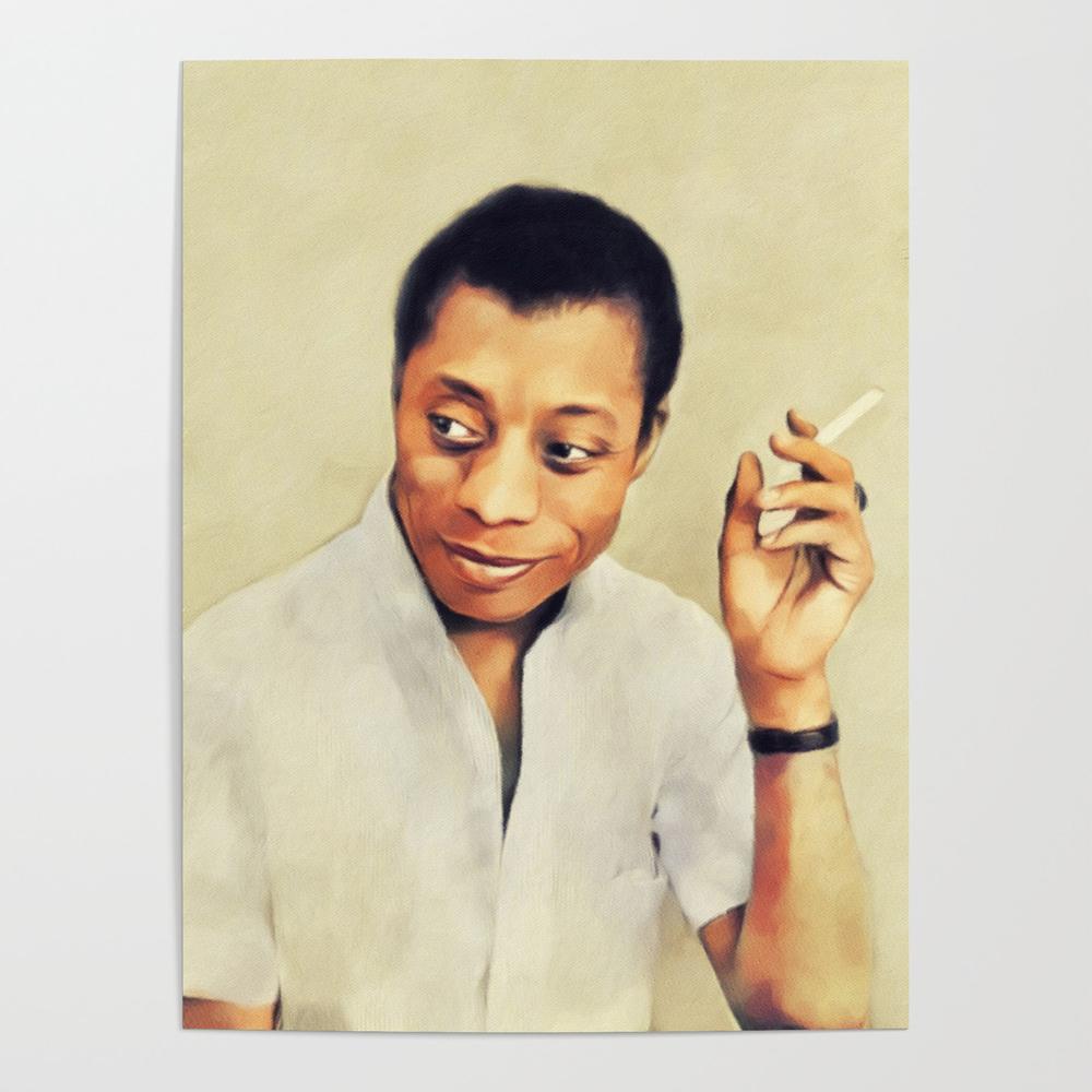 James Baldwin, Literary Legend Poster by serpentfilms