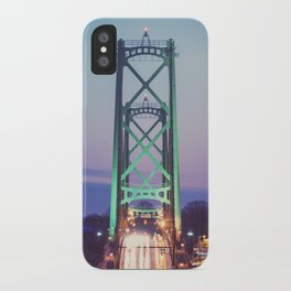 Symmetry of the Span iPhone Case