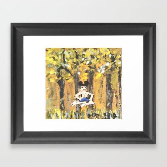 NIRVANA DISNEY Framed Art Print