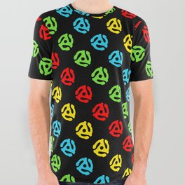 45 Spindle All Over Print All Over Graphic Tee