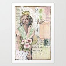 Springtime Dreams Art Print
