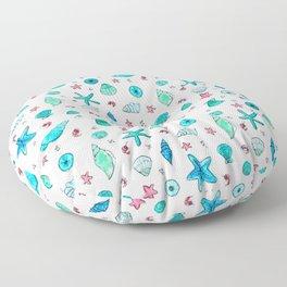 Shells and Shrimps Floor Pillow