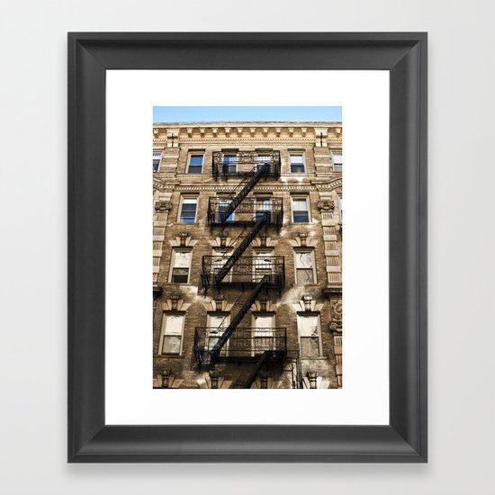 Alphabet City Framed Art Print