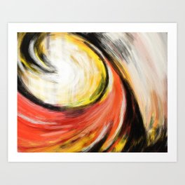My Wave - Abstract Art Print