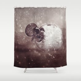 Harsh Conditions Shower Curtain