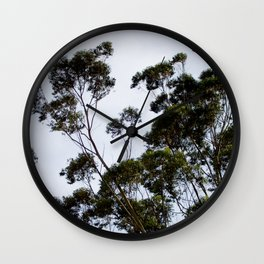 A Day in the Life of a Tree Wall Clock