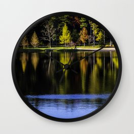Autumn at R.B. Winter State Park Wall Clock