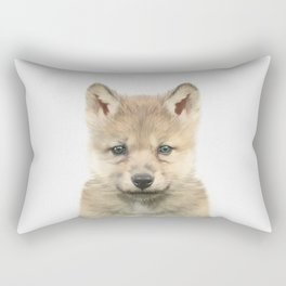 Baby Wolf Rectangular Pillow