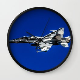 Hornet Splinter Wall Clock