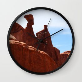 Nofretete   - Arches National Park Wall Clock