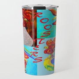 Rooster Menagerie Travel Mug