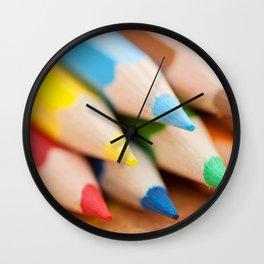Kids Club - Pencils Wall Clock