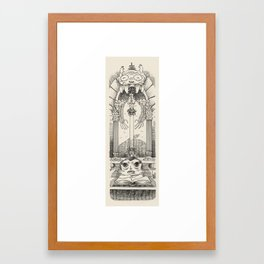 librarian Framed Art Print