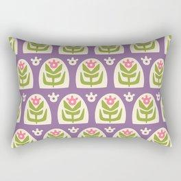Mid Century Modern Sunflower 103 Rectangular Pillow