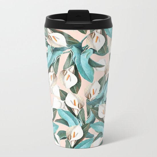 Floral Porn #society6 #lifestyle #buyart Metal Travel Mug