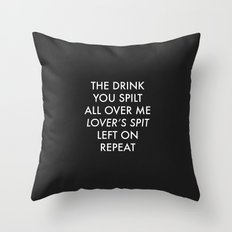 Ribs by Lorde Throw Pillow