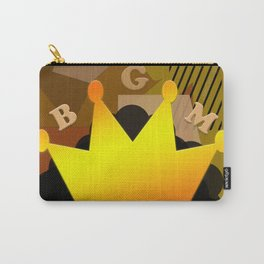 Abstract African Art - Black Girl Magic Polygon Patterns Carry-All Pouch