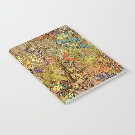 Floral Garden Notebook