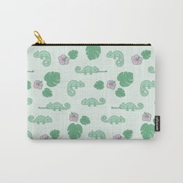 Remi the Chameleon Carry-All Pouch