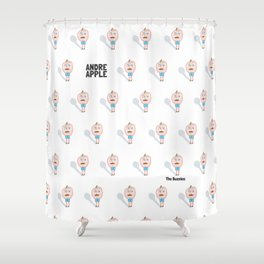 Andre Apple Shower Curtain