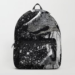 WOLF OF THE NIGHT FOREST Backpack