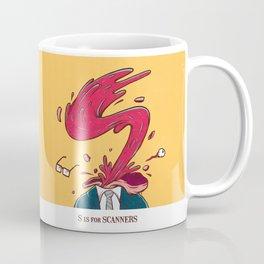 S is for Scanners Coffee Mug