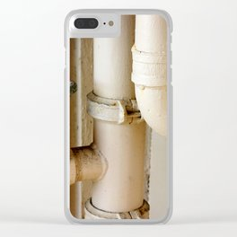 Pipes Clear iPhone Case