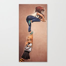 Invisible wall Canvas Print