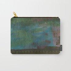 Deep blue green Carry-All Pouch