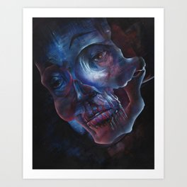 Beneath the surface Art Print