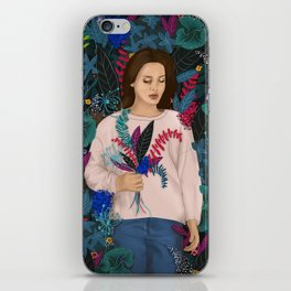 Lana in the jungle iPhone Skin