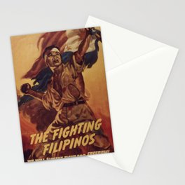 The Fighting Filipinos Stationery Cards
