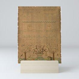 Alice Pearlee - Sampler (1759) Mini Art Print