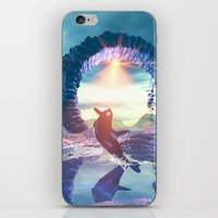 orca iPhone & iPod Skins featuring Orca by nicky2342