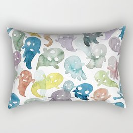 Happy Ghosts Rectangular Pillow