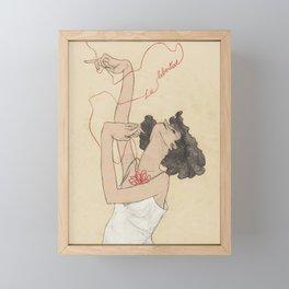 La Libertad Framed Mini Art Print