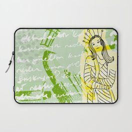 Unhappy Girl Laptop Sleeve