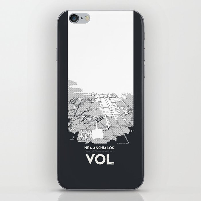 Volos Central Greece Airport iPhone Skin