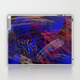 Abstract blue background Laptop & iPad Skin