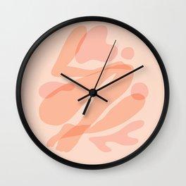 Abstraction_LADY_BODY_BEAUTY_Minimalism_001 Wall Clock