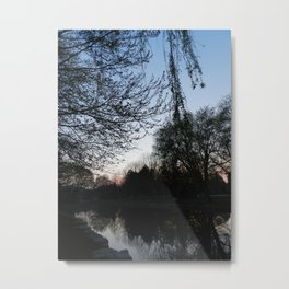 Victoria Park at dusk - Vertical Shot - Kitchener, ONT Metal Print
