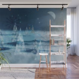 winter night Wall Mural