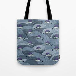 Swordfish Espadon | Pattern Art Tote Bag